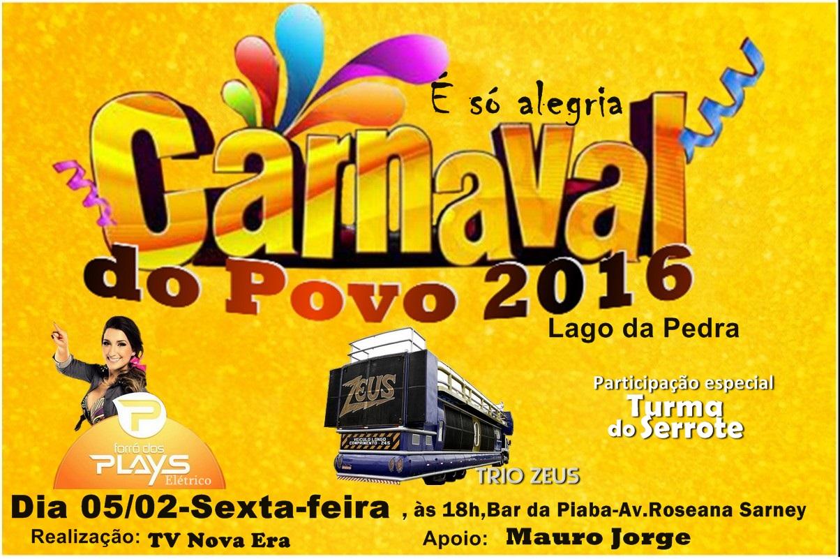 ´´É só Alegria`` Carnaval do Povo-Sexta( 05/02 )