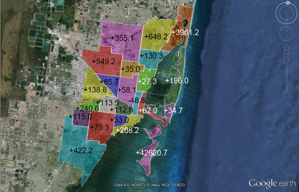 Urban Density Comparisons Florida Map Suburban Downtown Urban Planning Urban City Town