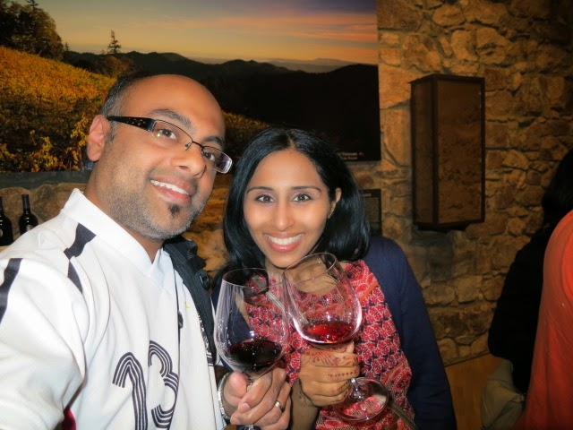 Wine Tasting at The Hess Collection Winery