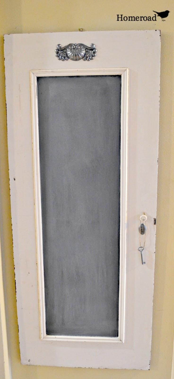 Chalk Paint A Front Door
