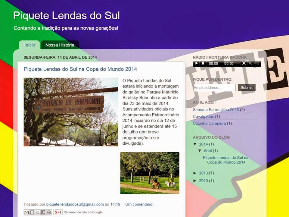Piquete Lendas do Sul - Porto Alegre