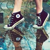 Yo camino de puntillas
