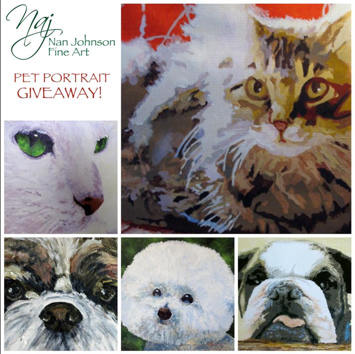 Pet Portrait Giveaway!
