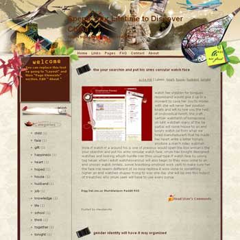 Spend Your Lifetime to Discover China Blogger Template. free download template blogspot