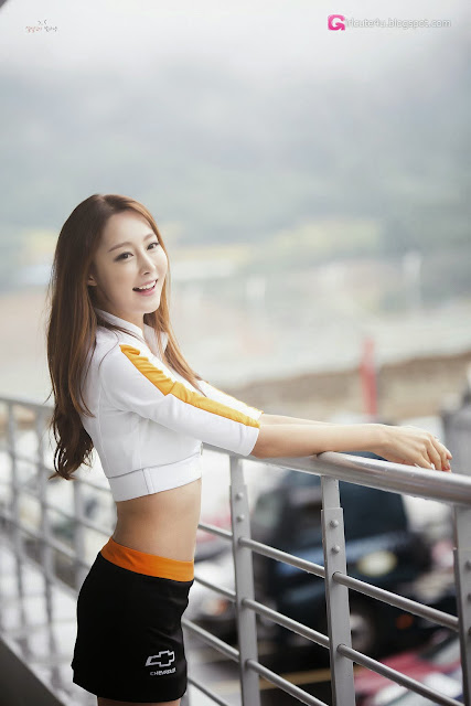 5 Eun Bin - CJ Super Race 2013 R6 - very cute asian girl-girlcute4u.blogspot.com