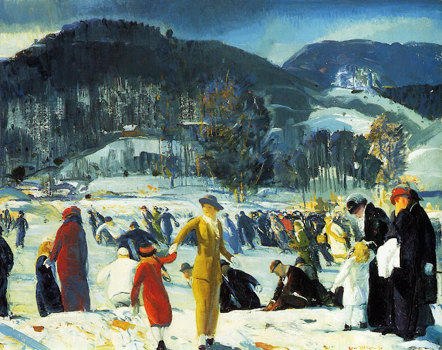 1914 Love of Winter oil