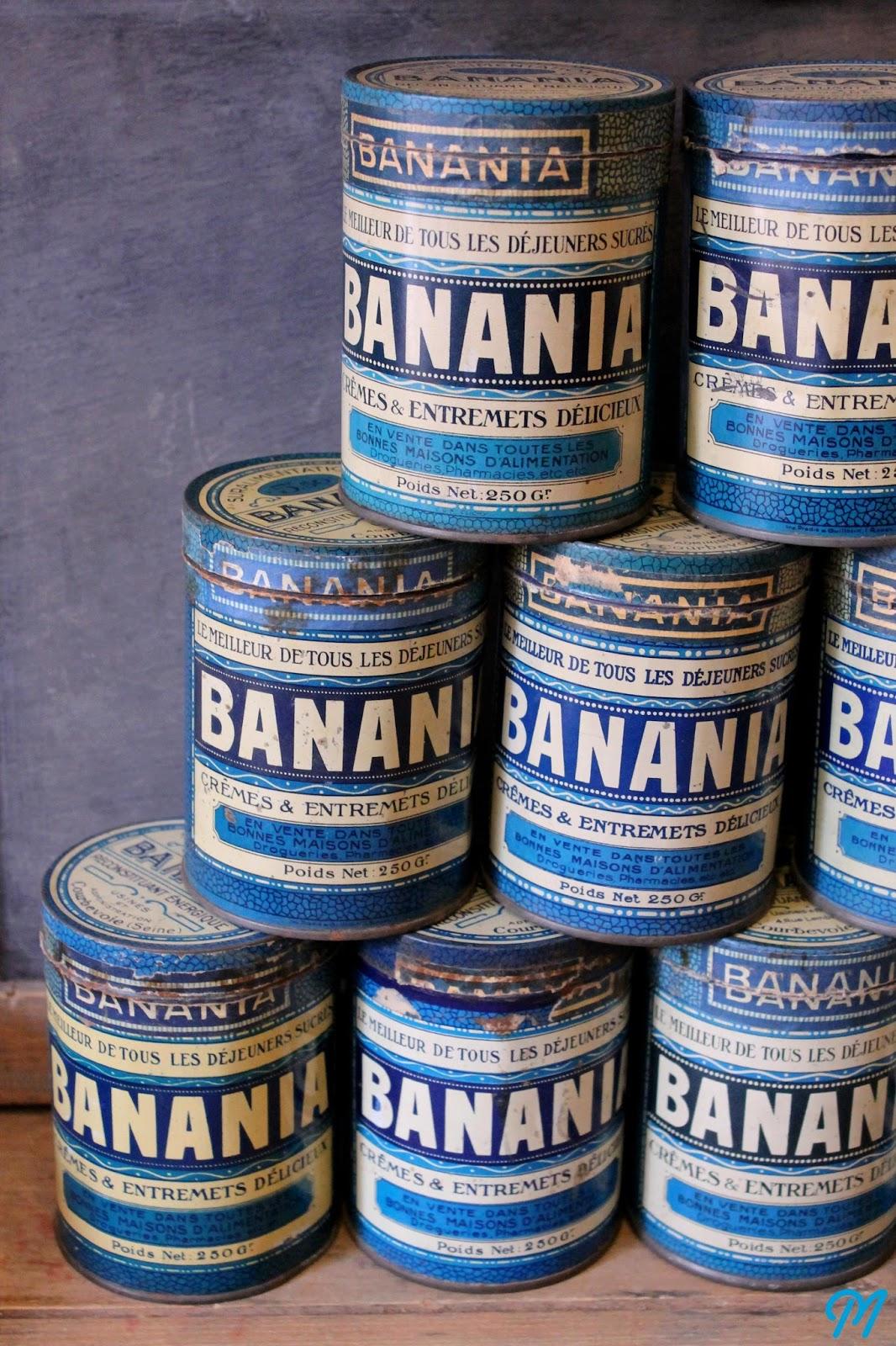 boites banania flacons anciens et savons le chat. Black Bedroom Furniture Sets. Home Design Ideas