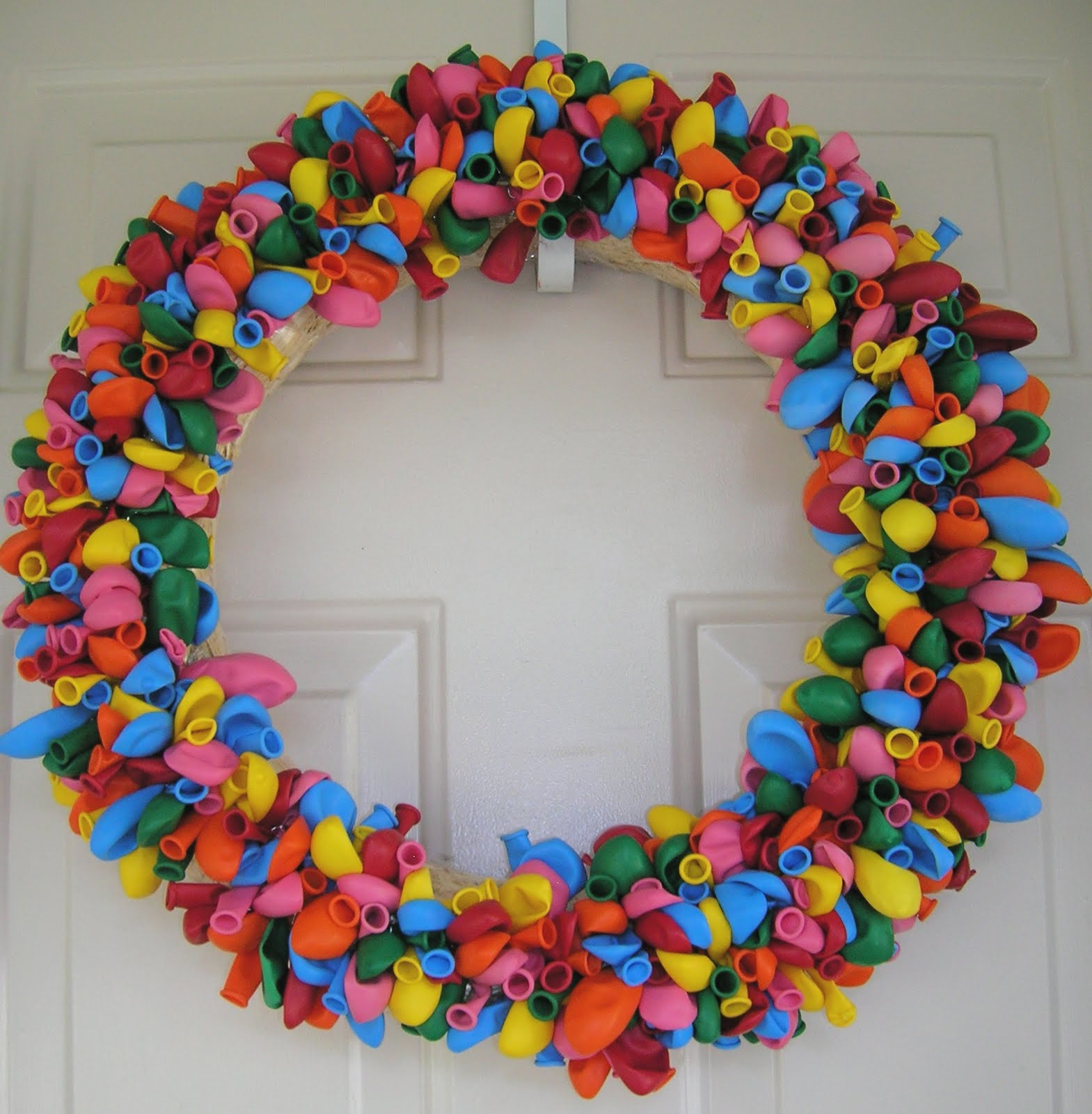 The Birthday Balloon Wreath