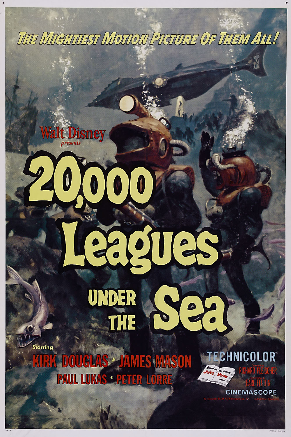 20 000 leagues under the sea Twenty thousand leagues under the sea, novel by jules verne, first published  in french as vingt mille lieues sous les mers in 1869–70 it is perhaps the most.