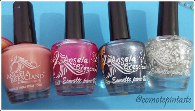 N°186, N°69, N°405 y N°170 . Todos de Ángela Bresciano