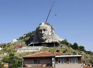 The Bust of Ataturk (Buca, Turki)