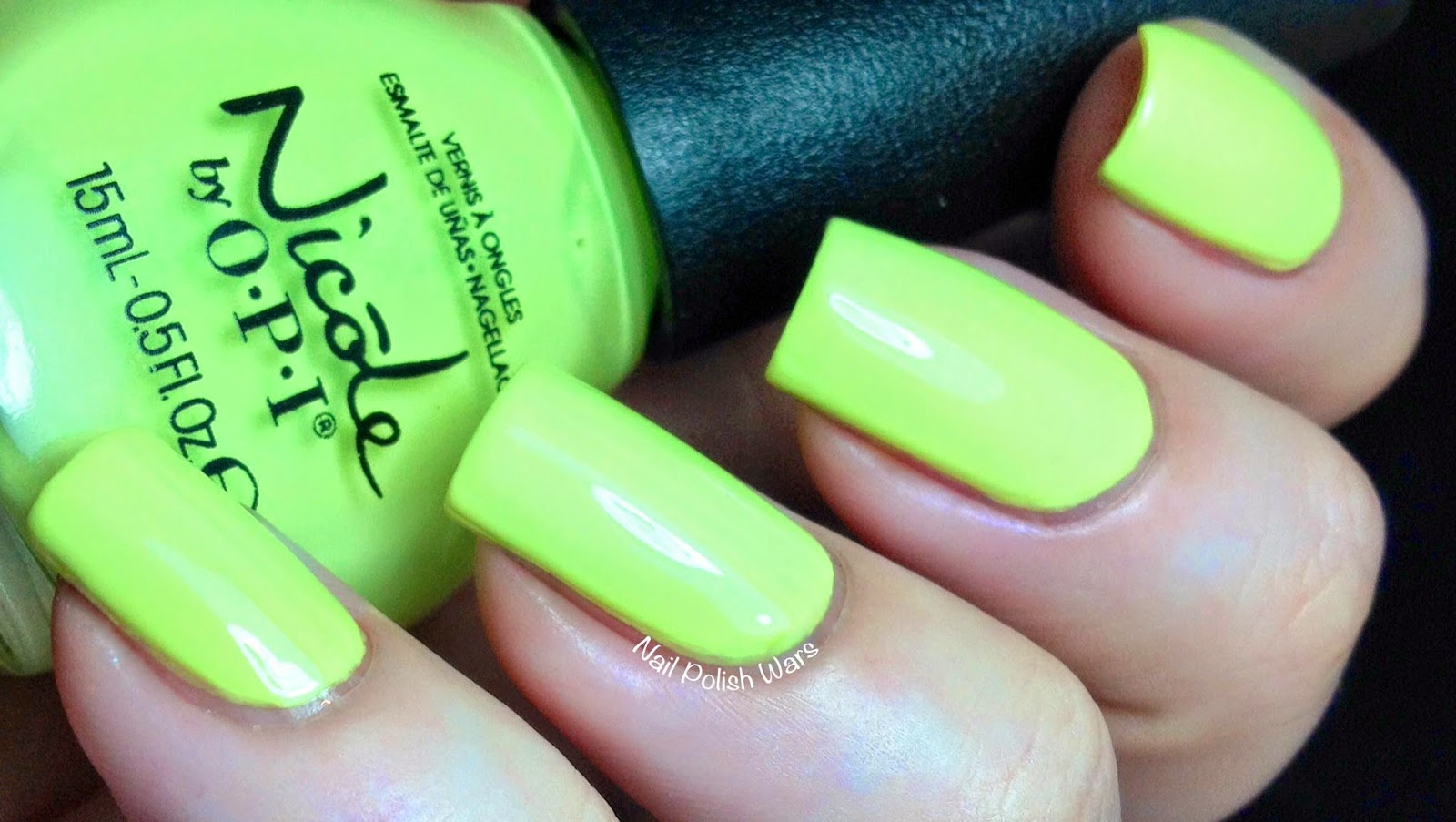 Nail Polish Wars: Nicole by OPI Seize the Summer Collection Swatch ...