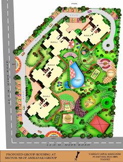 Amrapali Eden Park :: Site Plan
