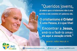 BEATO JOÃO PAULO AOS JOVENS