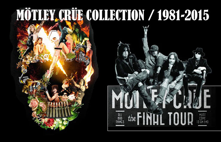 Mötley Crüe Collection 1981 - 2015