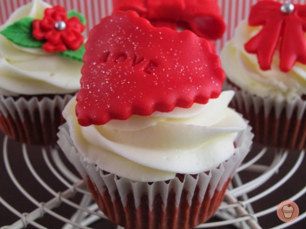 Cupcakes San Valentin, parte 4