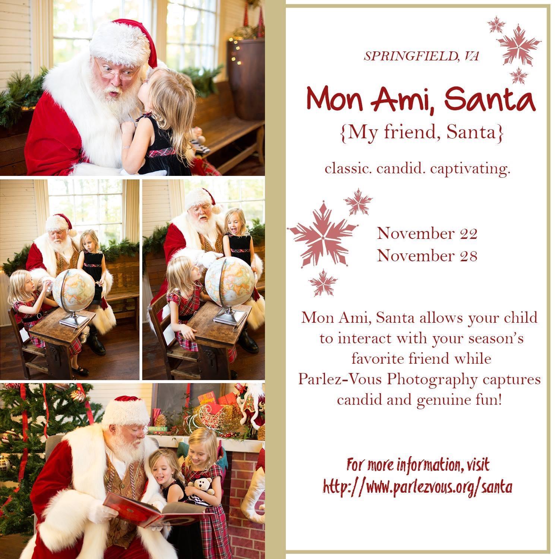 Mon Ami Santa Pictures 2015 – Prince William County Moms