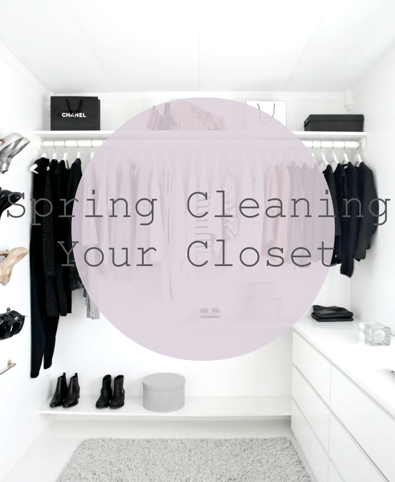 how to spring clean organise your wardrobe closet clothes advice lifestyle fashion
