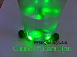 mutiara,hijau,batu,gimmick,mistik,magic,sinar,hijau,memancar,paranormal,bizzare,distributor,toko,sulap,online,murah,meylan magic