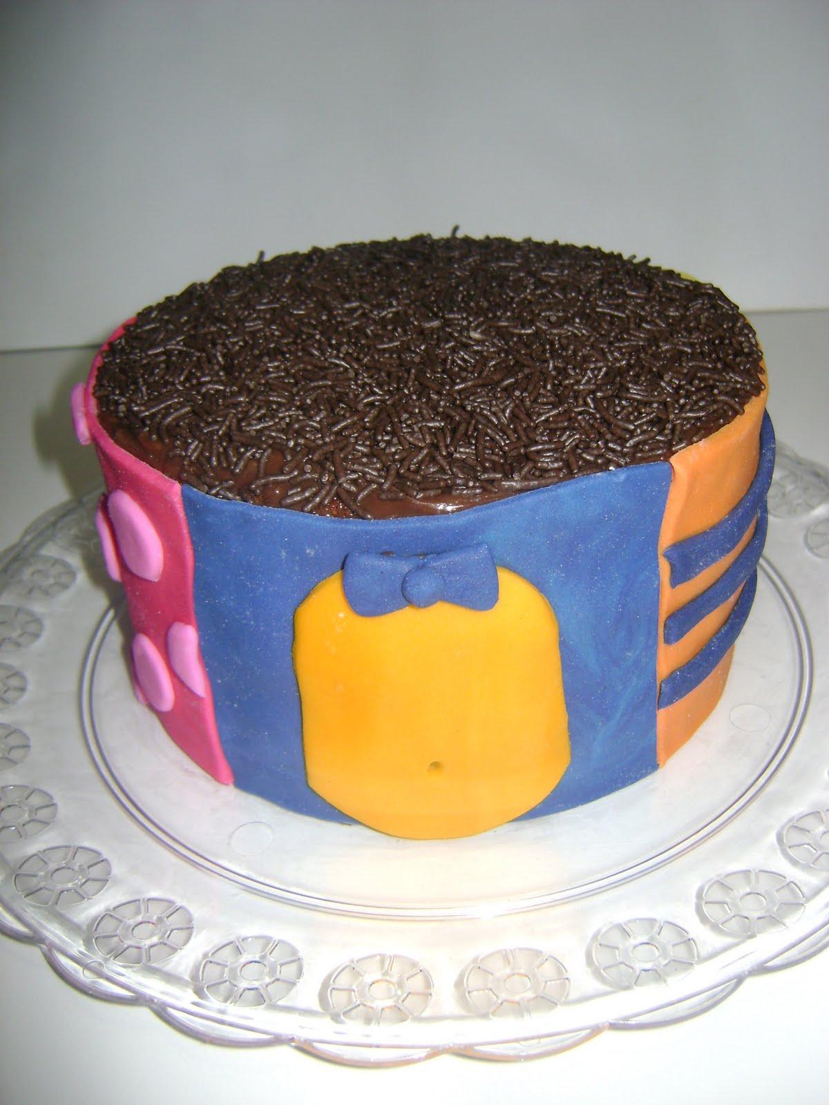 Backyardigans Cake Pop
