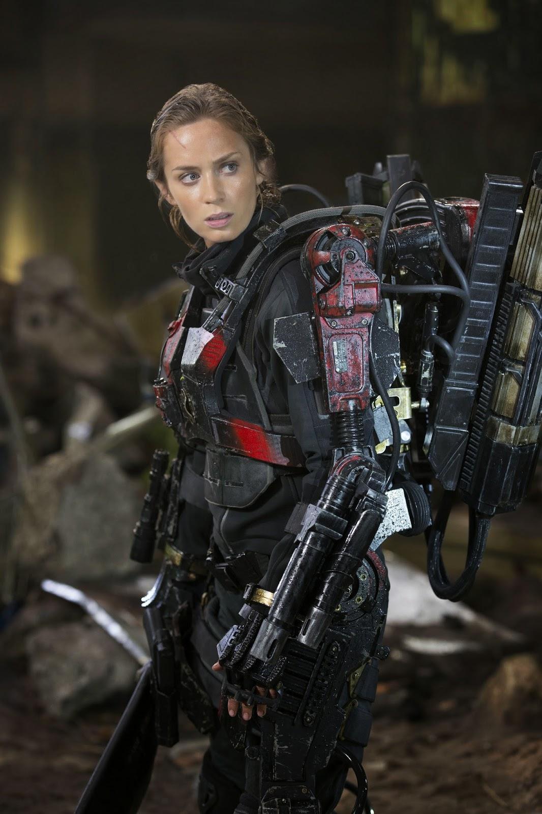 The Angel Of Verdun Emily Blunt As Rita Vrataski In Edge O Flickr