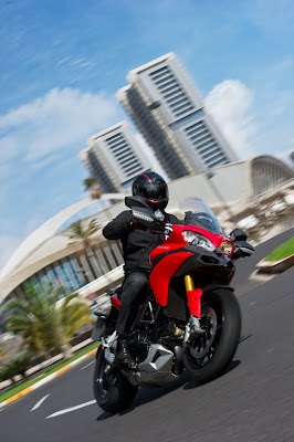 2011 Ducati Multistrada 1200S Sport in Action