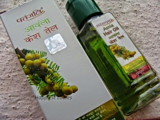 patanjali hair oil amla