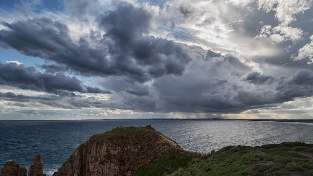 stratocumulus over pinnacles phillip island