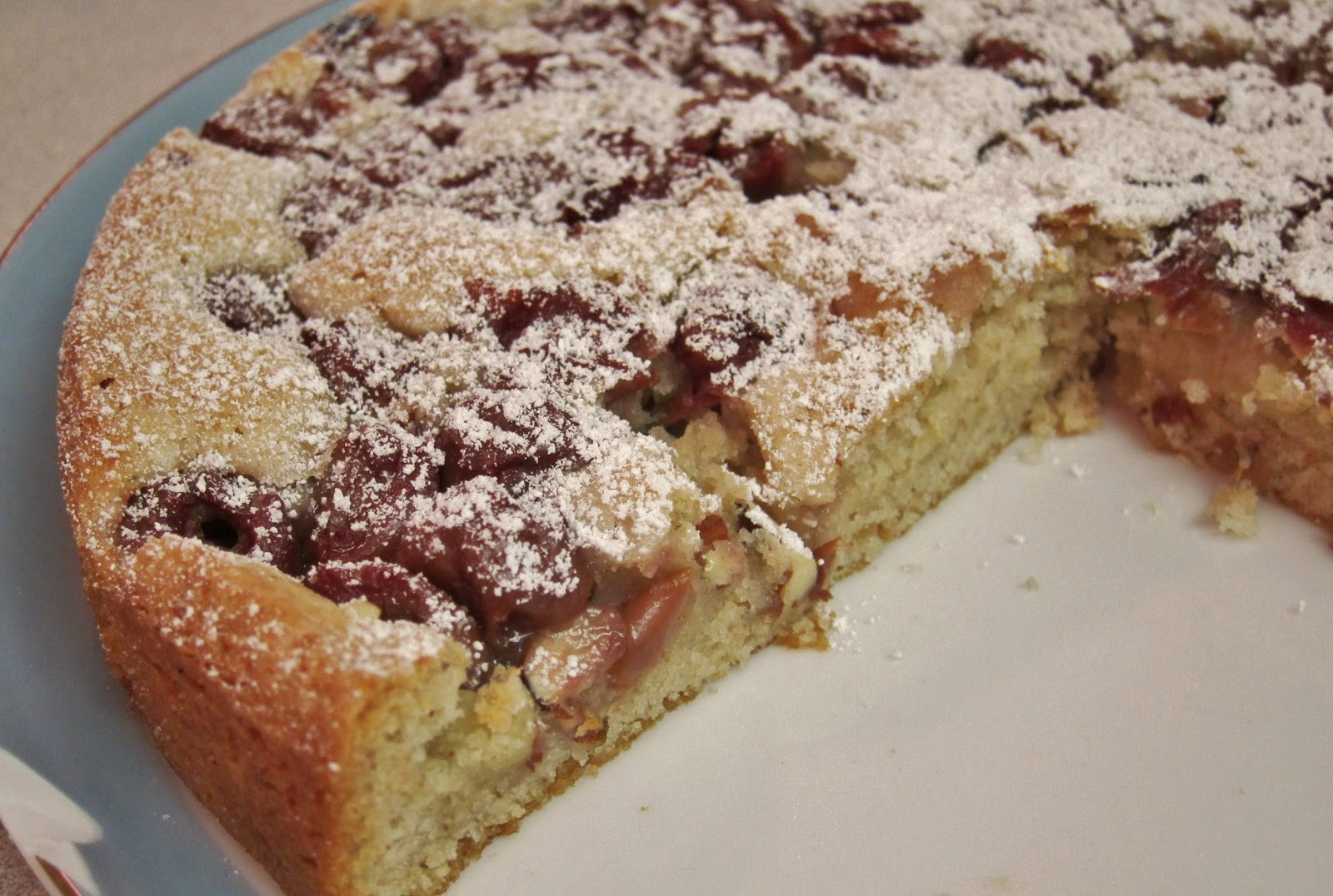 crumble cherry almond focaccia cherry almond clafoutis cherry almond ...
