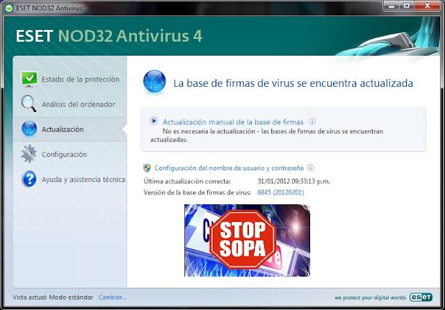 Usuario Y Contrase  A NOD32 4 Y 5 2012 Actualizado 1 02 2012