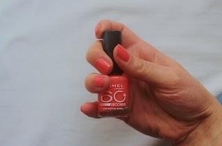 rimmel nail polish coral