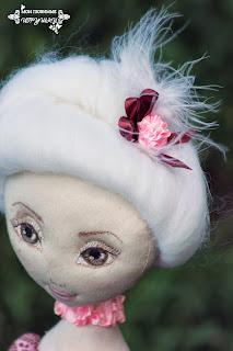 My lovely toys, art cloth doll, Мои любимые игрушки, авторские текстильные куклы