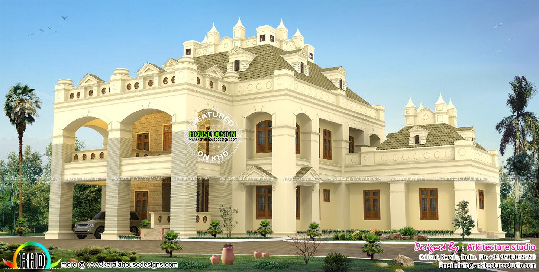 Colonial Style Bungalow Kerala Home Design Bloglovin