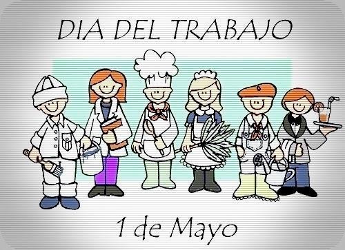 Imagen por el Día del Trabajo - Diferentes personas con diferetes trabajos