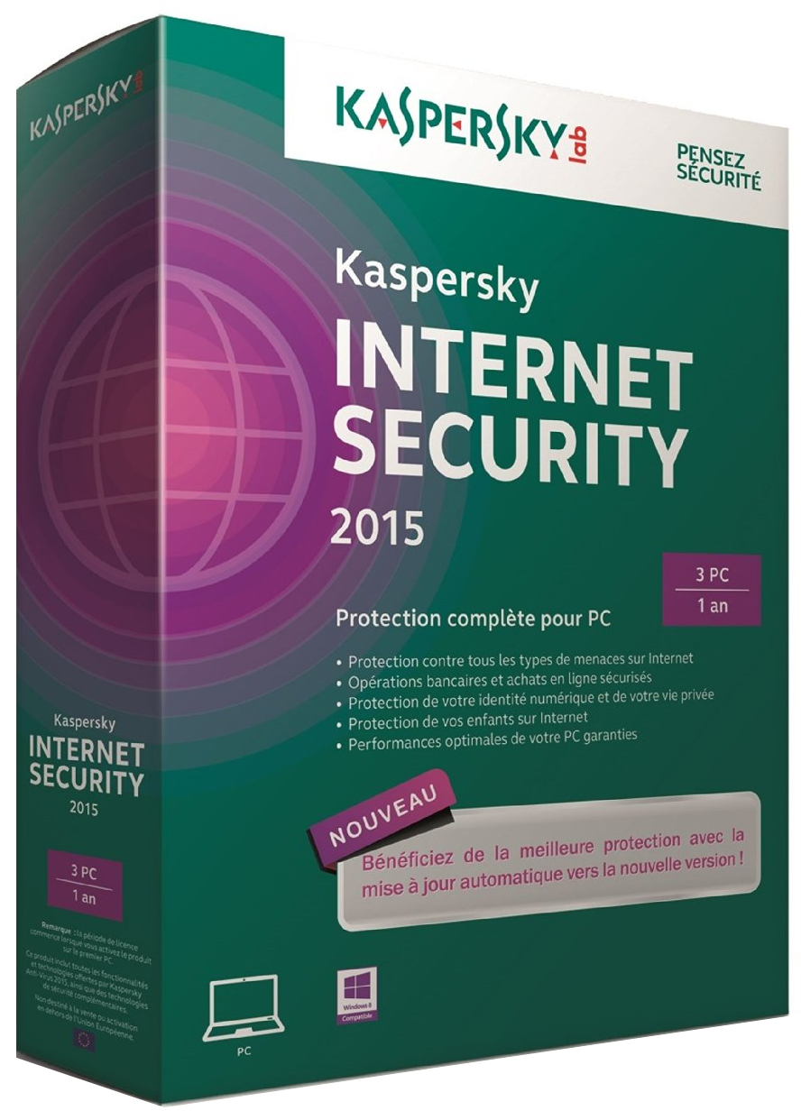 Kaspersky Internet Security 2015 Trail Reset 15.0.0.463EN_6176 included