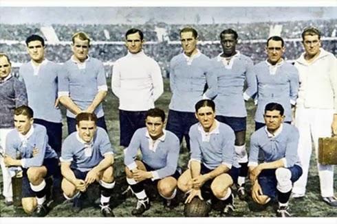 Seleção Uruguai campeã mundial 1930