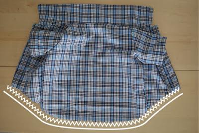 molde para camisa de perro