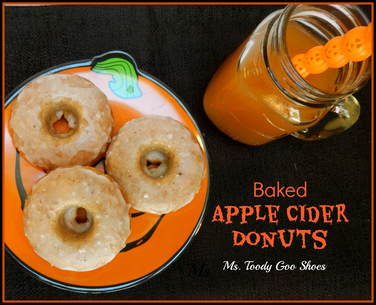 Baked Apple Cider Donuts by Ms. Toody Goo Shoes