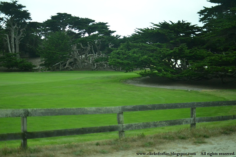 california coastline monterey bay golf course pebble beach drive 17 mile