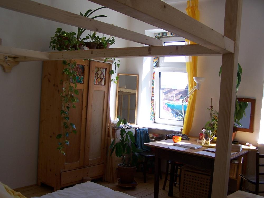 construction d 39 un lit mezzanine 2 places pour famille lit mezzanine 2 places. Black Bedroom Furniture Sets. Home Design Ideas