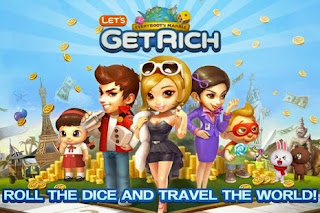 Download & Instal Game LINE Let's Get Rich .APK Terbaru Gratis