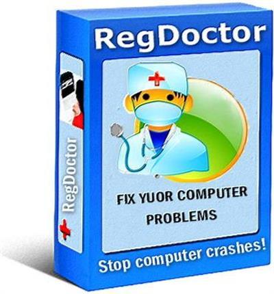 برنامج صيانة وتصليح الريجسترى وتسريع جهاز الكمبيوتر RegDoctor 2.37