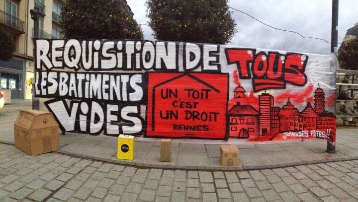Rennes, Un Toit c'est Un Droit !