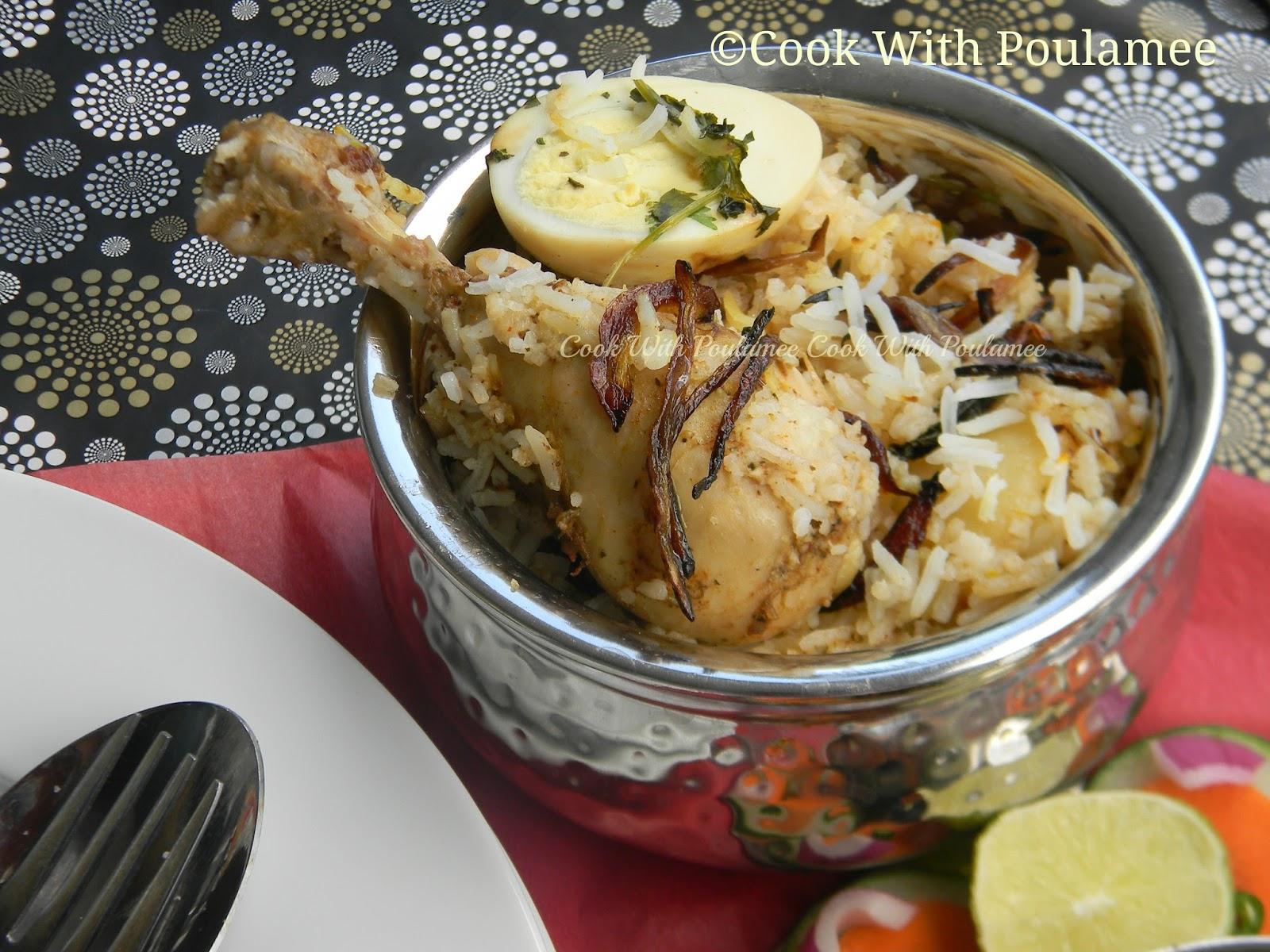 Chicken handi biryani - photo#4