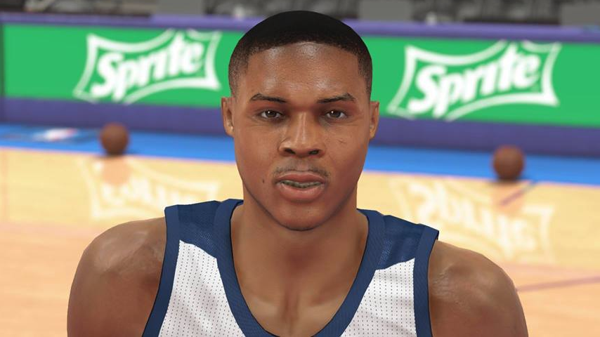 NBA 2K14 Russell Westbrook Next-Gen Face Mod PC