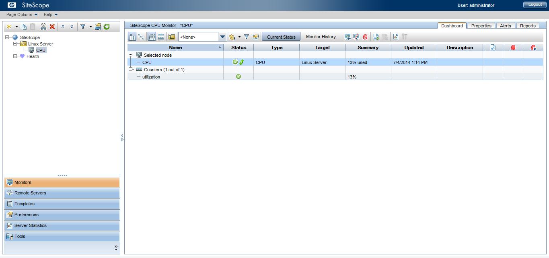 CPU Utilization Monitor