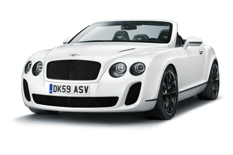 Wallpaper Mobil Sports Bentley Continental Supersports Convertible