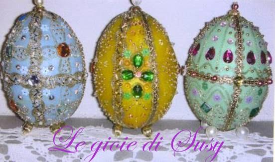 Come decorare le uova di polistirolo - Decorare uova di pasqua ...