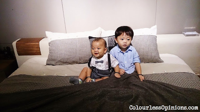 Stanzo Collection Mont Kiara Mall KL Malaysia - babies on songdream bed