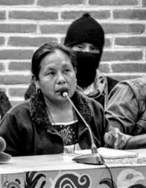 Vocera y candidata del CNI y del EZLN